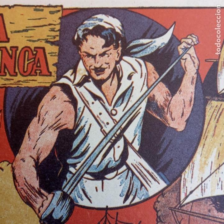 Tebeos: EL PIRATA COBRA BLANCA COMPLETA 1 AL 12 - nueva papel reciclado no blanco - ver todas las portadas - Foto 9 - 209883110