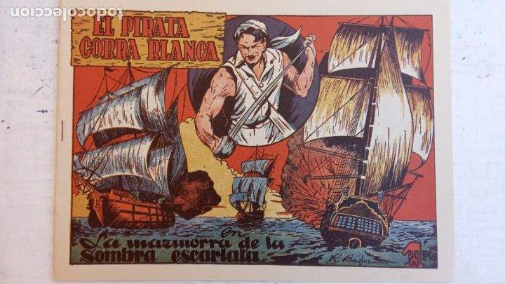 Tebeos: EL PIRATA COBRA BLANCA COMPLETA 1 AL 12 - nueva papel reciclado no blanco - ver todas las portadas - Foto 10 - 209883110