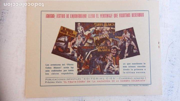 Tebeos: EL PIRATA COBRA BLANCA COMPLETA 1 AL 12 - nueva papel reciclado no blanco - ver todas las portadas - Foto 11 - 209883110