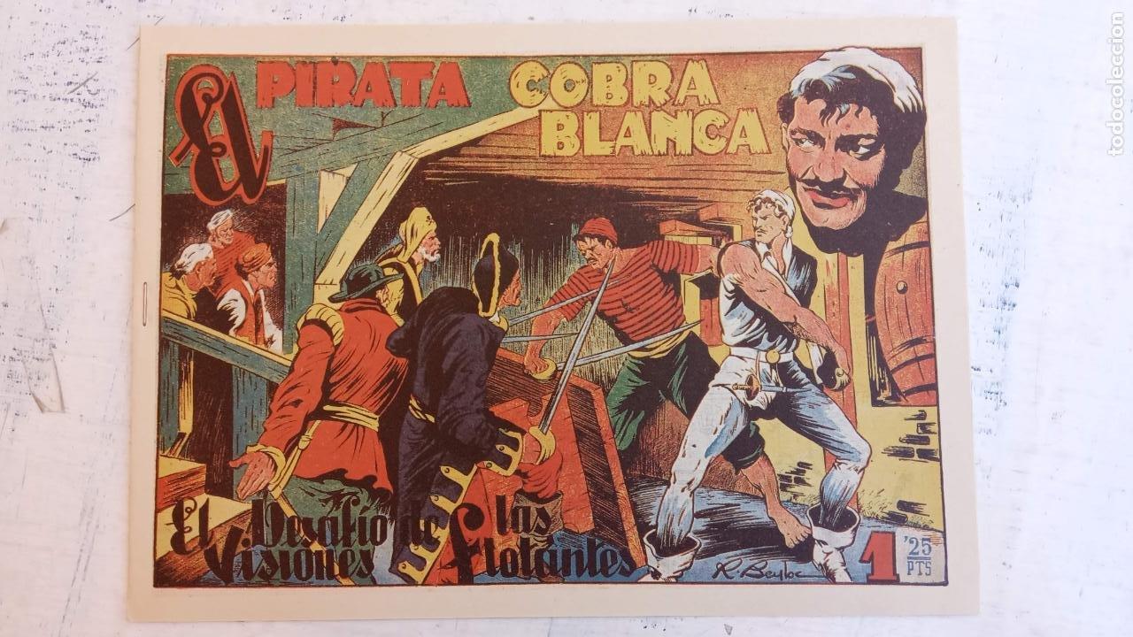 Tebeos: EL PIRATA COBRA BLANCA COMPLETA 1 AL 12 - nueva papel reciclado no blanco - ver todas las portadas - Foto 14 - 209883110