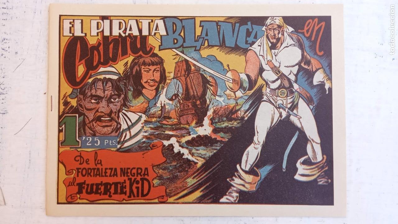 Tebeos: EL PIRATA COBRA BLANCA COMPLETA 1 AL 12 - nueva papel reciclado no blanco - ver todas las portadas - Foto 18 - 209883110