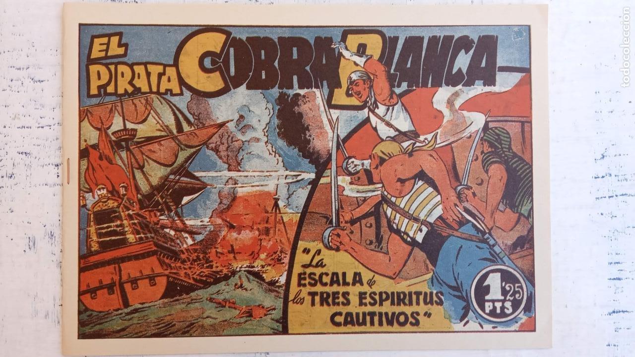 Tebeos: EL PIRATA COBRA BLANCA COMPLETA 1 AL 12 - nueva papel reciclado no blanco - ver todas las portadas - Foto 21 - 209883110