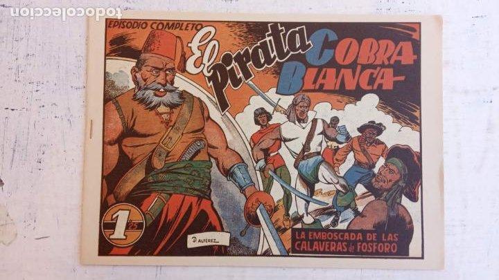 Tebeos: EL PIRATA COBRA BLANCA COMPLETA 1 AL 12 - nueva papel reciclado no blanco - ver todas las portadas - Foto 24 - 209883110