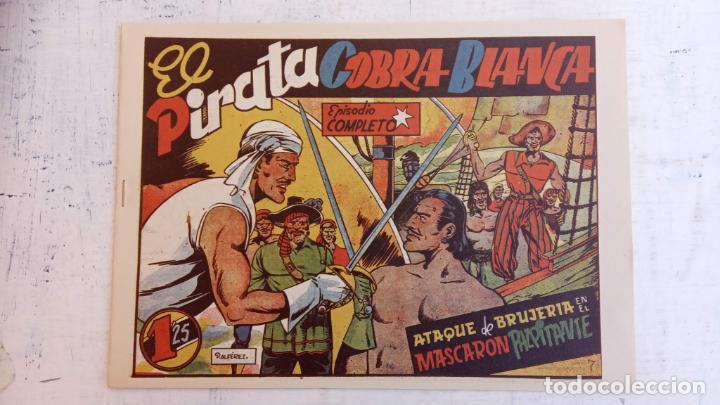 Tebeos: EL PIRATA COBRA BLANCA COMPLETA 1 AL 12 - nueva papel reciclado no blanco - ver todas las portadas - Foto 26 - 209883110