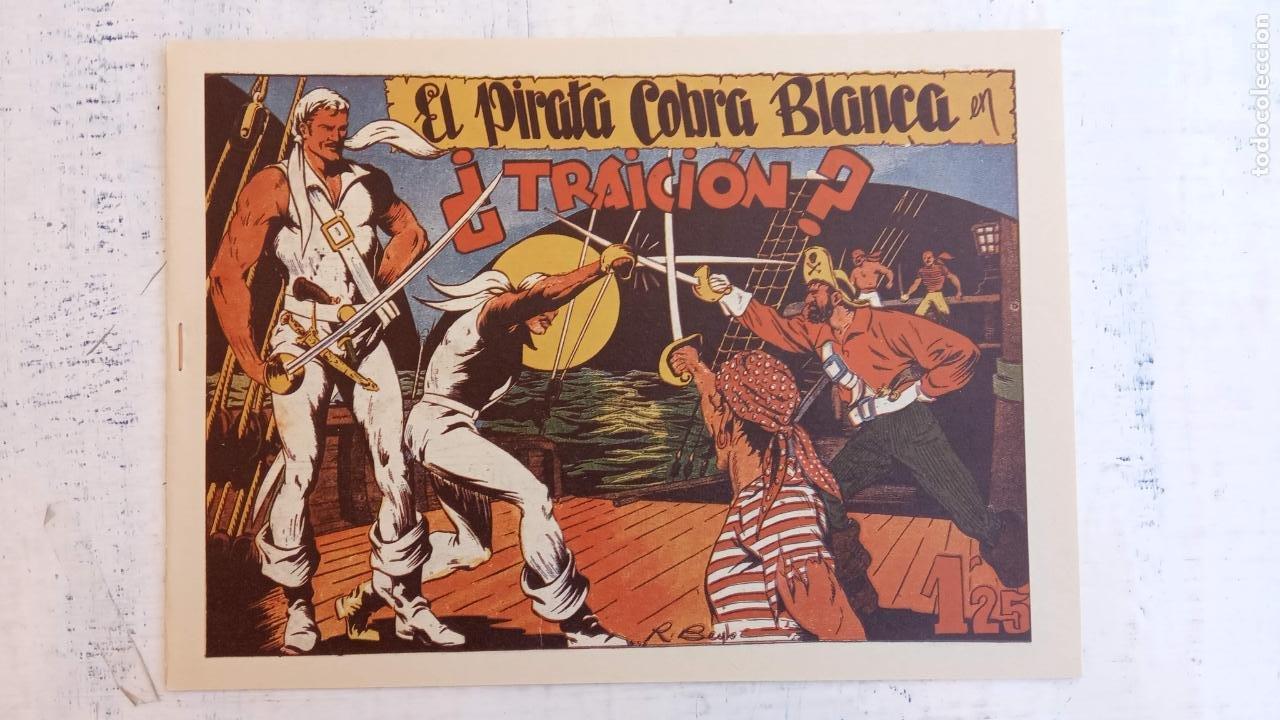 Tebeos: EL PIRATA COBRA BLANCA COMPLETA 1 AL 12 - nueva papel reciclado no blanco - ver todas las portadas - Foto 28 - 209883110