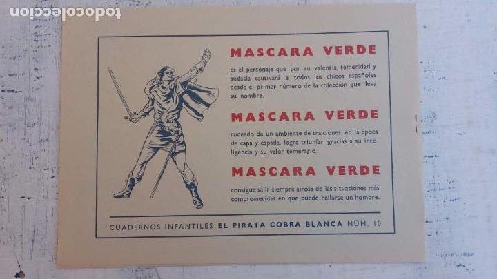 Tebeos: EL PIRATA COBRA BLANCA COMPLETA 1 AL 12 - nueva papel reciclado no blanco - ver todas las portadas - Foto 29 - 209883110