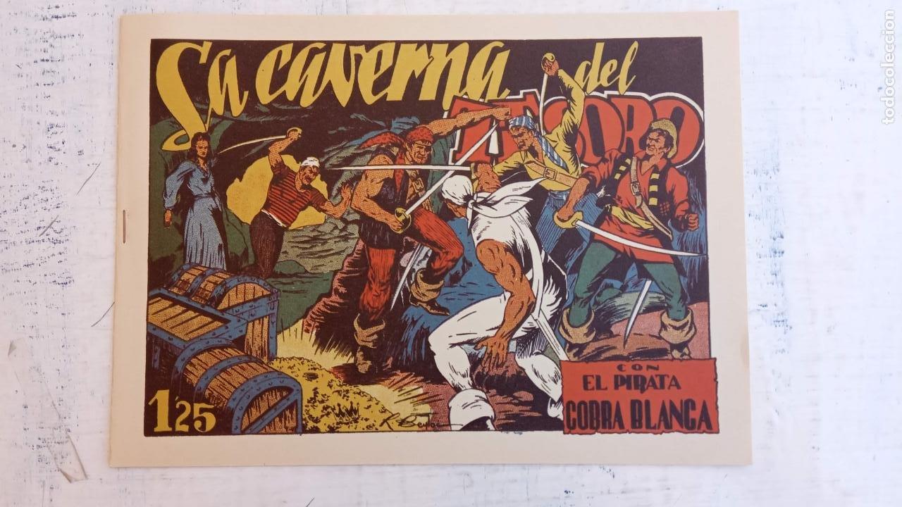 Tebeos: EL PIRATA COBRA BLANCA COMPLETA 1 AL 12 - nueva papel reciclado no blanco - ver todas las portadas - Foto 32 - 209883110