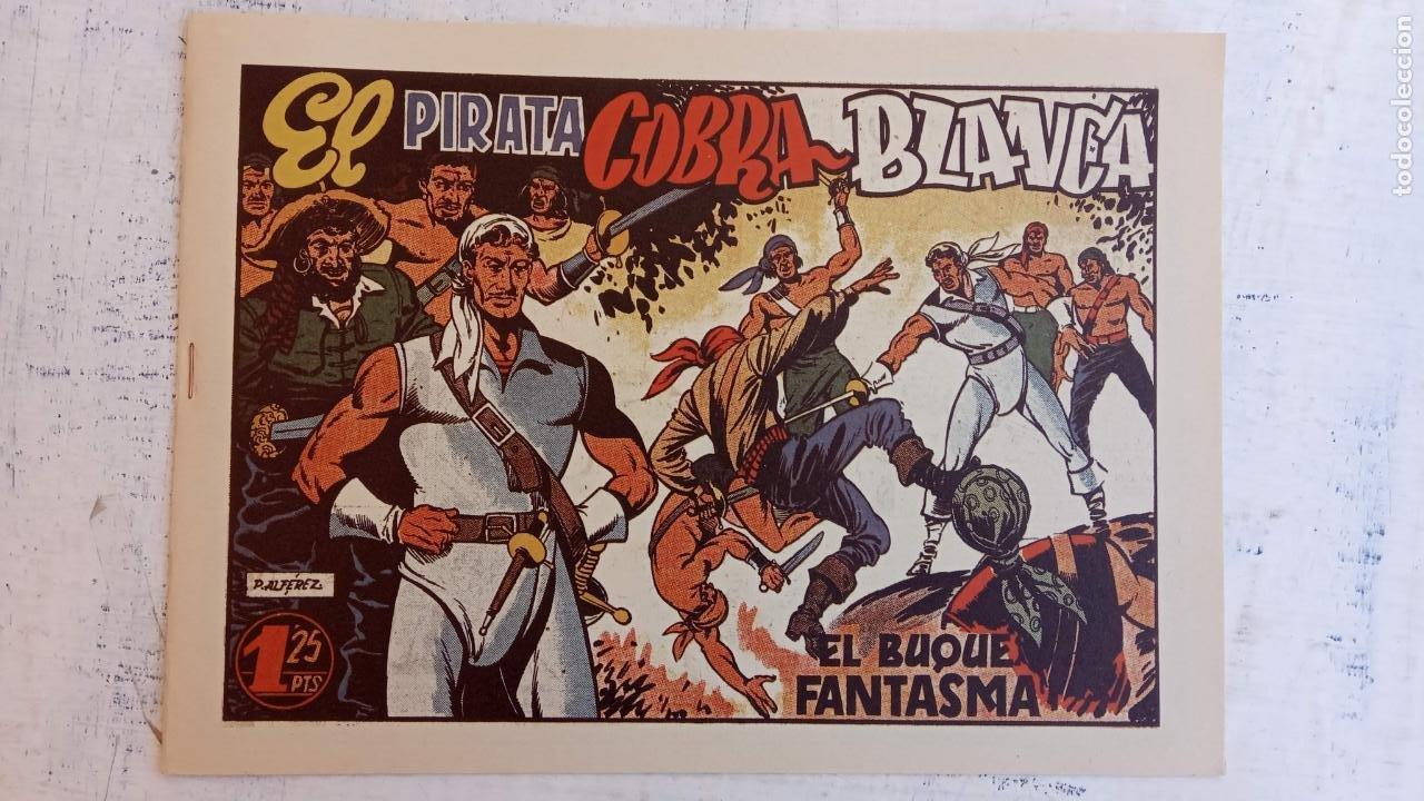 Tebeos: EL PIRATA COBRA BLANCA COMPLETA 1 AL 12 - nueva papel reciclado no blanco - ver todas las portadas - Foto 35 - 209883110