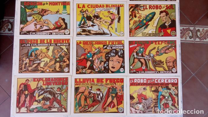 Tebeos: LOS EXPLORADORES DEL UNIVERSO COMPLETA Y NUEVA del CLUB DE AMIGOS DE LA HISTORIETA, ver portadas - Foto 4 - 209883696