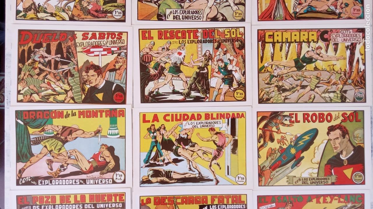 Tebeos: LOS EXPLORADORES DEL UNIVERSO COMPLETA Y NUEVA del CLUB DE AMIGOS DE LA HISTORIETA, ver portadas - Foto 6 - 209883696