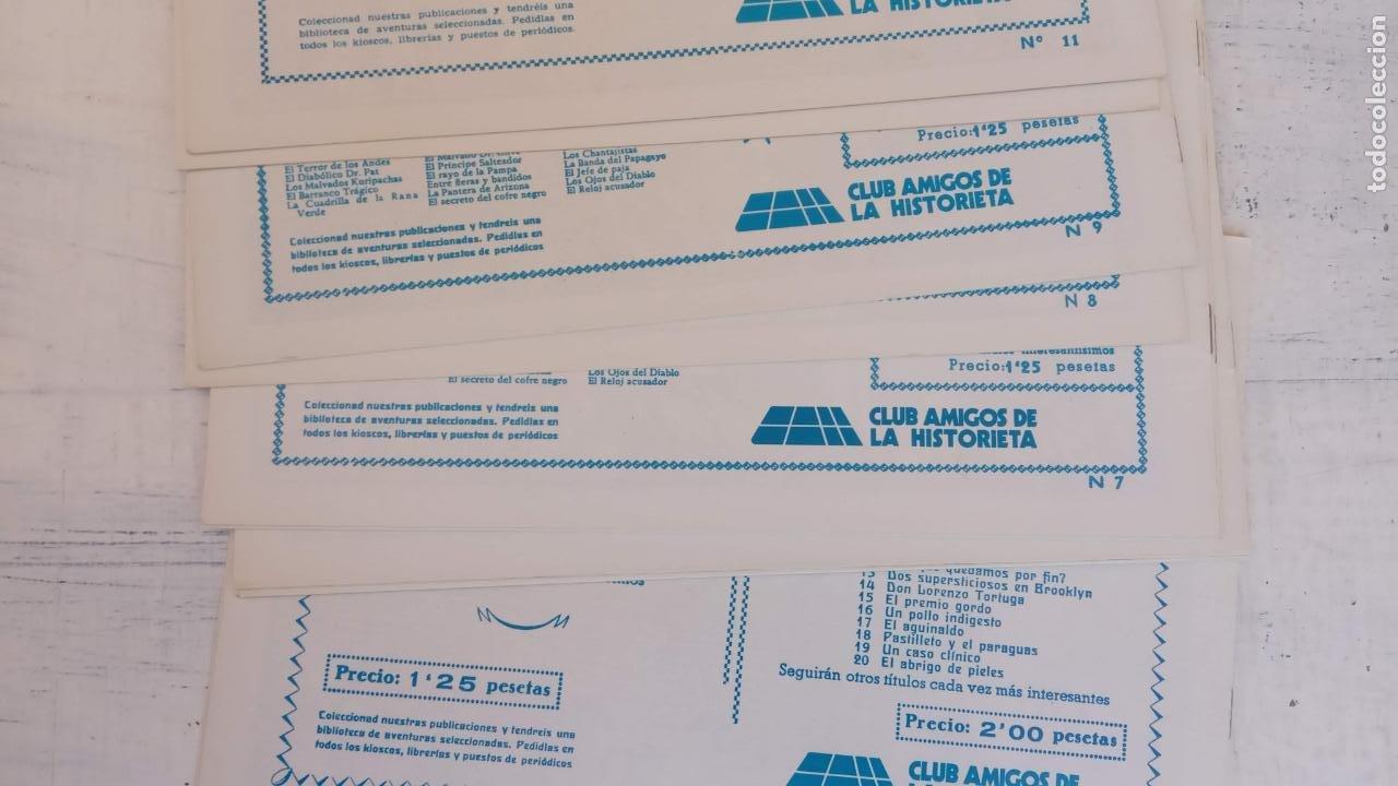 Tebeos: LOS EXPLORADORES DEL UNIVERSO COMPLETA Y NUEVA del CLUB DE AMIGOS DE LA HISTORIETA, ver portadas - Foto 7 - 209883696