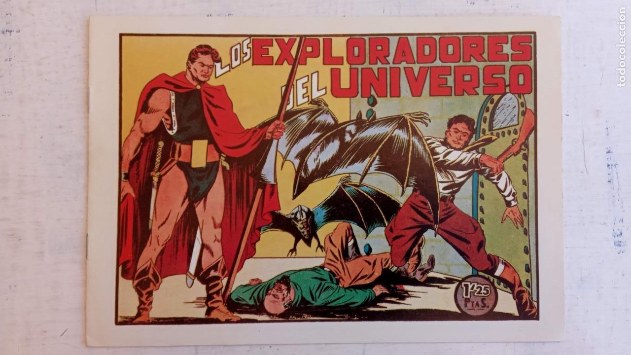 Tebeos: LOS EXPLORADORES DEL UNIVERSO COMPLETA Y NUEVA del CLUB DE AMIGOS DE LA HISTORIETA, ver portadas - Foto 10 - 209883696