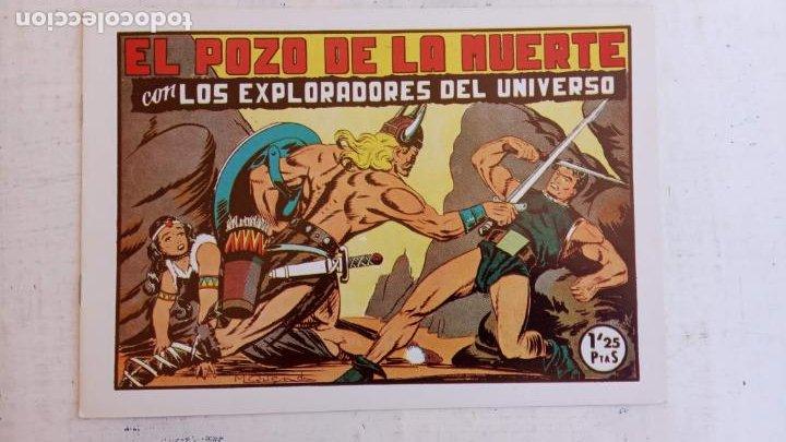 Tebeos: LOS EXPLORADORES DEL UNIVERSO COMPLETA Y NUEVA del CLUB DE AMIGOS DE LA HISTORIETA, ver portadas - Foto 15 - 209883696