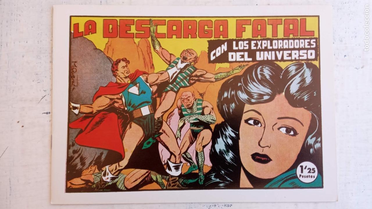 Tebeos: LOS EXPLORADORES DEL UNIVERSO COMPLETA Y NUEVA del CLUB DE AMIGOS DE LA HISTORIETA, ver portadas - Foto 19 - 209883696