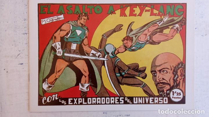 Tebeos: LOS EXPLORADORES DEL UNIVERSO COMPLETA Y NUEVA del CLUB DE AMIGOS DE LA HISTORIETA, ver portadas - Foto 20 - 209883696