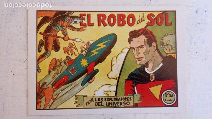 Tebeos: LOS EXPLORADORES DEL UNIVERSO COMPLETA Y NUEVA del CLUB DE AMIGOS DE LA HISTORIETA, ver portadas - Foto 28 - 209883696