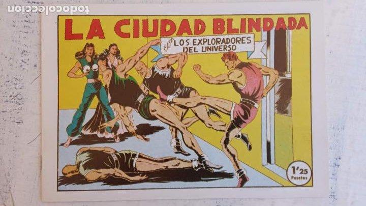 Tebeos: LOS EXPLORADORES DEL UNIVERSO COMPLETA Y NUEVA del CLUB DE AMIGOS DE LA HISTORIETA, ver portadas - Foto 29 - 209883696