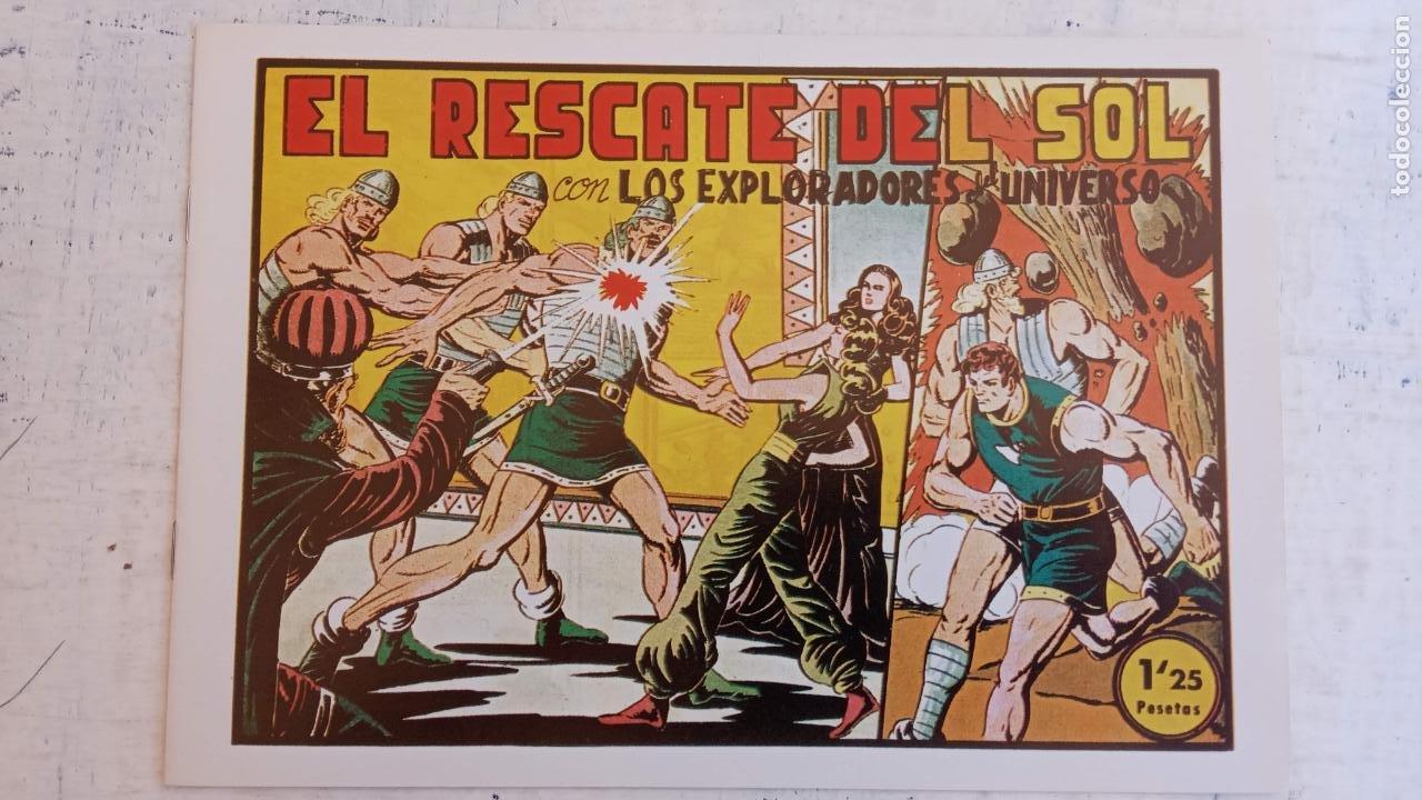 Tebeos: LOS EXPLORADORES DEL UNIVERSO COMPLETA Y NUEVA del CLUB DE AMIGOS DE LA HISTORIETA, ver portadas - Foto 32 - 209883696