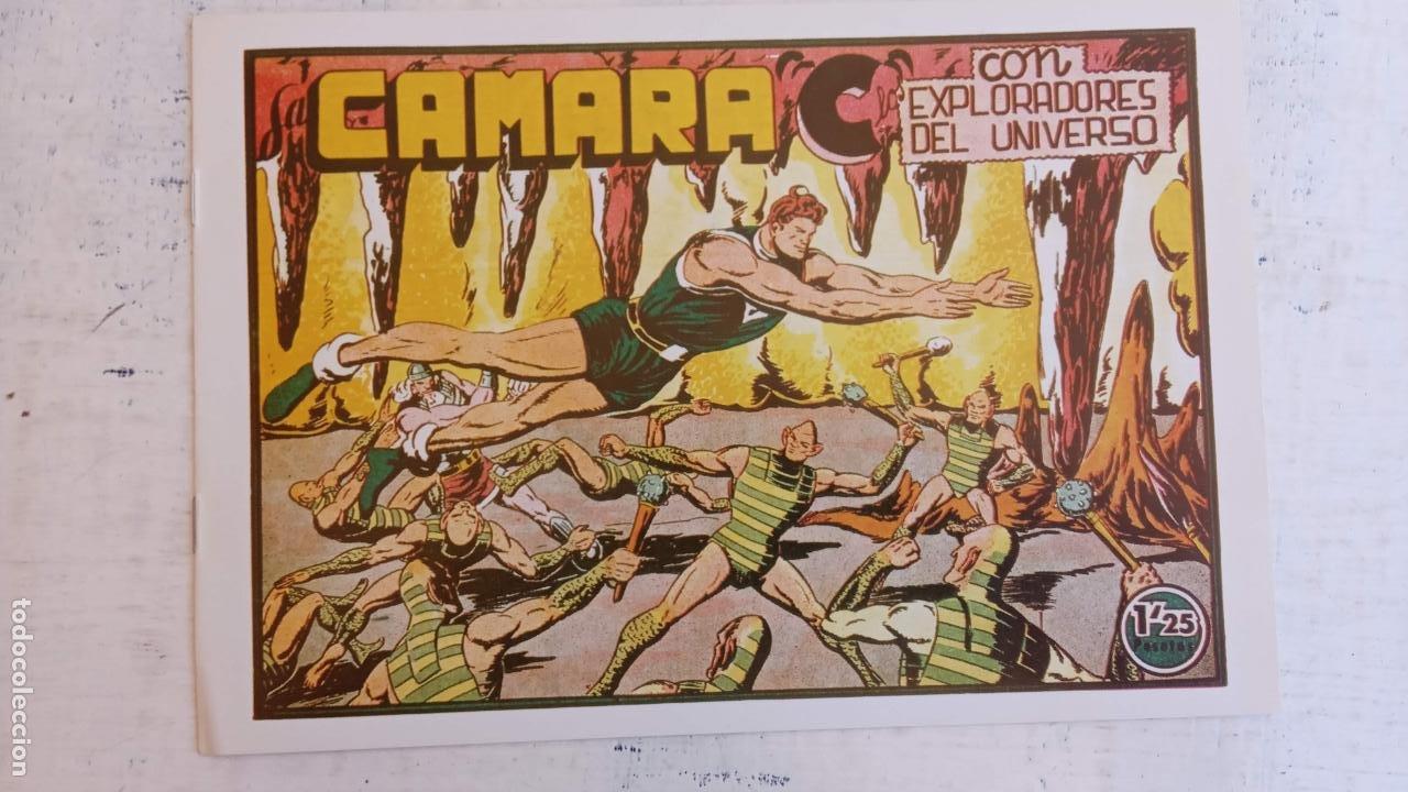 Tebeos: LOS EXPLORADORES DEL UNIVERSO COMPLETA Y NUEVA del CLUB DE AMIGOS DE LA HISTORIETA, ver portadas - Foto 33 - 209883696