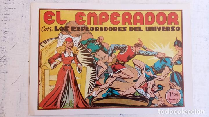 Tebeos: LOS EXPLORADORES DEL UNIVERSO COMPLETA Y NUEVA del CLUB DE AMIGOS DE LA HISTORIETA, ver portadas - Foto 37 - 209883696