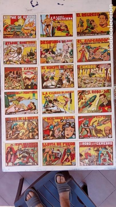 LOS EXPLORADORES DEL UNIVERSO COMPLETA Y NUEVA DEL CLUB DE AMIGOS DE LA HISTORIETA, VER PORTADAS (Tebeos y Comics - Tebeos Reediciones)