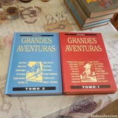 Tebeos: LOTE DE 2 TOMOS GRANDES AVENTURAS - EL PERIÓDICO - EDICIONES B. Lote 210580620