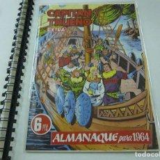 Tebeos: FACSIMIL ALMANAQUE CAPITAN TRUENO PARA 1964 - N. Lote 210824499