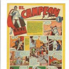 Tebeos: * EL CAMPEON * Nº 3 REEDICIÓN FASCIMIL DEL CAH *. Lote 211898935