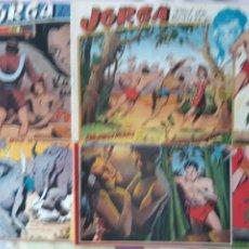 Tebeos: JORGA PIEL DE BRONCE, COMPLETA. Lote 211992590