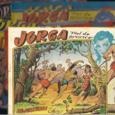 Tebeos: JORGA PIEL DE BRONCE, COMPLETA. SIN GRAPAS. Lote 212851242
