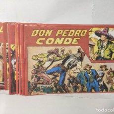 Tebeos: DON PEDRO CONDE COMPLETA 12 NÚMEROS. REEDICIÓN DE GAGO. Lote 213548518