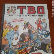 Tebeos: TBO 1973 EDICION COLECCIONISTA SALVAT .- PRECINTADO .- ESPECIAL AUTOMOVILISMO. Lote 214024965