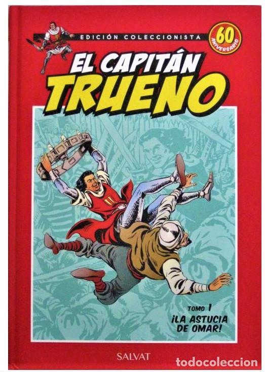EL CAPITÁN TRUENO ¡LA ASTUCIA DE OMAR! 10 AVENTURAS COMPLETAS ESTÁ PARA RECOGER EN MURCIA. (Tebeos y Comics - Tebeos Reediciones)