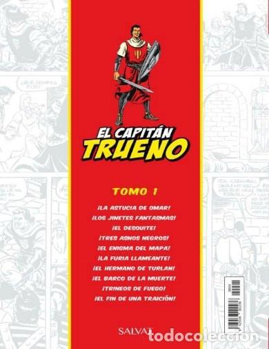 Tebeos: El Capitán Trueno ¡La astucia de Omar! 10 aventuras completas está para recoger en Murcia. - Foto 2 - 214579927