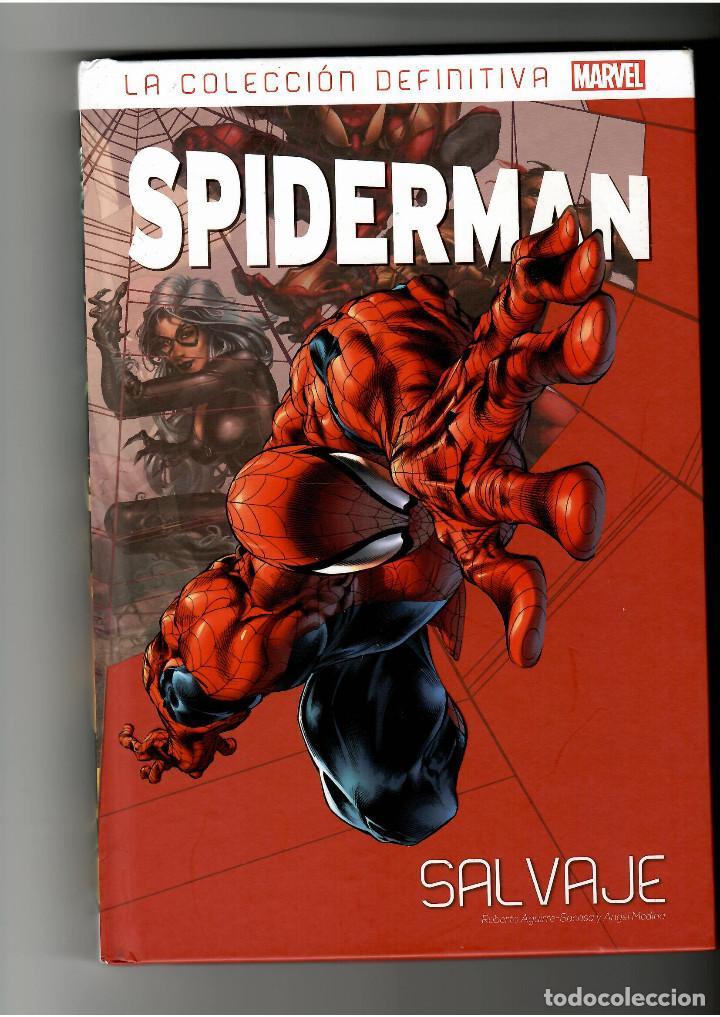 SPIDERMAN Nº 58 LA COLECCION DEFINITIVA .- SALVAJE .- SALVAT (Tebeos y Comics - Tebeos Reediciones)