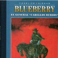 Giornalini: BLUEBERRY Nº 10 EL GENERAL CABELLOS RUBIOS .- EDICION COLECCIONISTA AGOSTINI. Lote 214950282