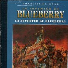 BDs: BLUEBERRY Nº 32 LA JUVENTUD DE BLUEBERRY .- EDICION COLECCIONISTA AGOSTINI .- PRECINTADO. Lote 214951188