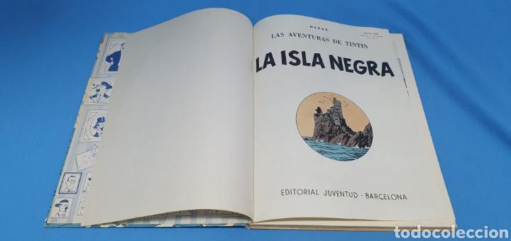 Tebeos: LAS AVENTURAS DE TINTÍN - LA ISLA NEGRA - HERGÉ - Foto 2 - 214969103