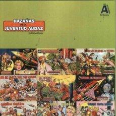Livros de Banda Desenhada: LOS ARCHIVOS DE EL BOLETIN VOLUMEN 17 HAZAÑAS DE LA JUVENTUD AUDAZ. Lote 203490947