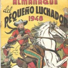 Tebeos: EL PEQUEÑO LUCHADOR - ALMANAQUE 1948. Lote 215362903