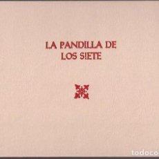 Tebeos: LA PANDILLA DE LOS SIETE - EL PEQUEÑO ENMASCARADO ( HEROES CLUB ) 1983 COMPLETO EN DOS TOMOS. Lote 216436276
