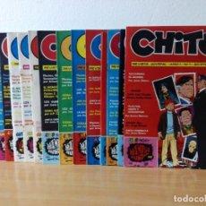 Tebeos: REEDICCION DEL AÑO 1974 DE 15 NUMEROS DE CHITO.NUEVOS. Lote 216932656