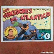 Tebeos: JUAN CENTELLA - LOS VENCEDORES DEL ATLÁNTICO + LA MINA SEPULTADA. NUM 6. REEDICION. Lote 218701951