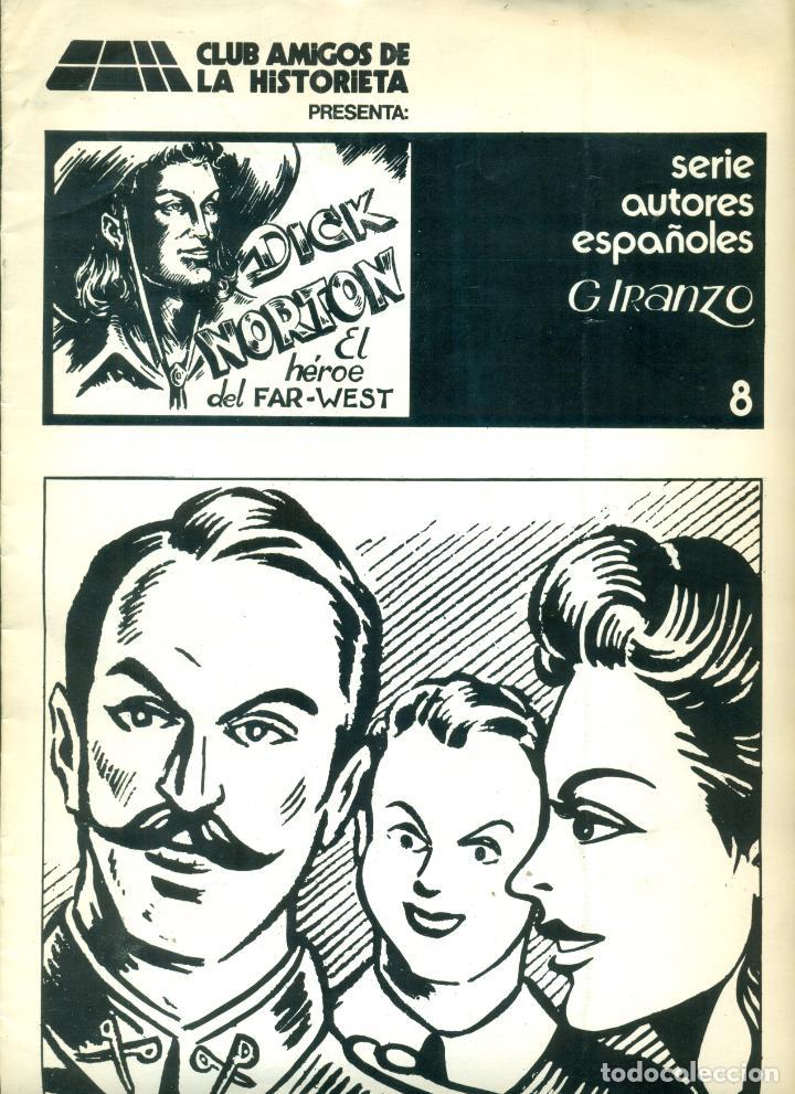 DICK NORTON REEDICION DE CAH Nº 8 ULTIMO DE LA SERIE (Tebeos y Comics - Tebeos Reediciones)