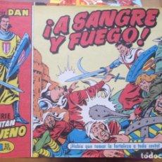 Tebeos: LOTE 618 TEBEOS EL CAPITAN TRUENO REEDICION EDICIONES B GRUO ZETA 13 TOMOS 1992 COMPLETA. Lote 219270163