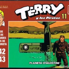 Giornalini: TERRY Y LOS PIRATAS VOLUMEN 11 POR MILTON CANIFF. TIRAS DE PRENSA 1942-1943. Lote 219372203
