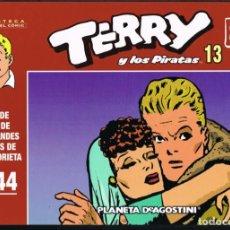 Giornalini: TERRY Y LOS PIRATAS VOLUMEN 13 POR MILTON CANIFF. TIRAS DE PRENSA 1944. Lote 219372580