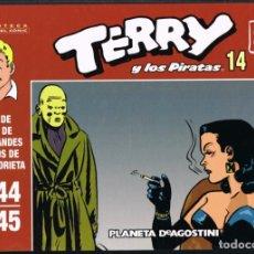 Giornalini: TERRY Y LOS PIRATAS VOLUMEN 14 POR MILTON CANIFF. TIRAS DE PRENSA 1944-1945. Lote 219372722
