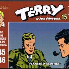 Giornalini: TERRY Y LOS PIRATAS VOLUMEN 15 POR MILTON CANIFF. TIRAS DE PRENSA 1945-1946. Lote 219372817