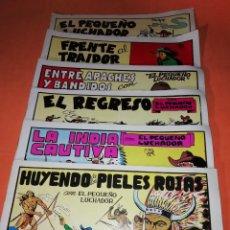 Tebeos: EL PEQUEÑO LUCHADOR . IBERCOMIC MAN 1988 12 NUMEROS EN 6 REVISTAS. REEDICION .. Lote 219430715